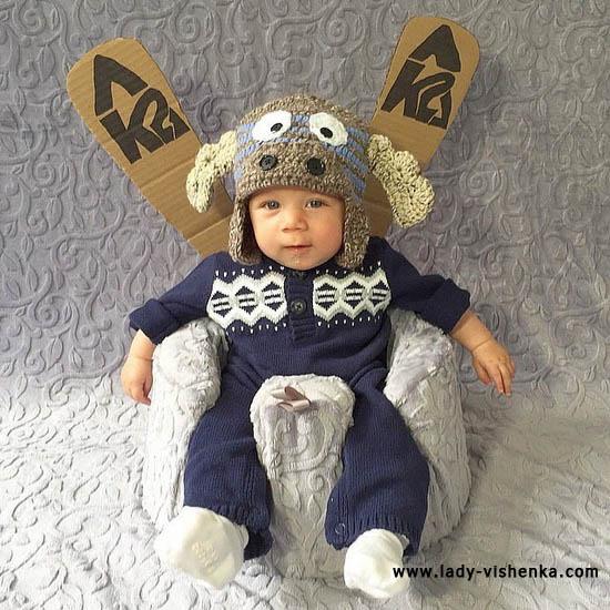 Costume cerf bébé