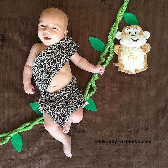 Costume Tarzan pour les enfants