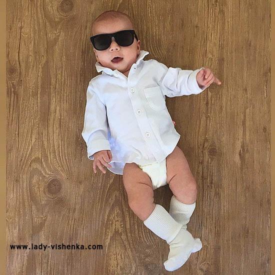 Costume homme dur pour enfant