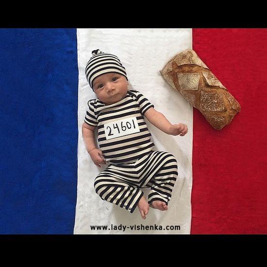 Costume de voleur pour bébé
