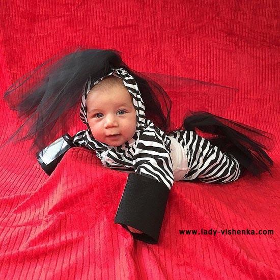 Zebra déguisement pour bebe