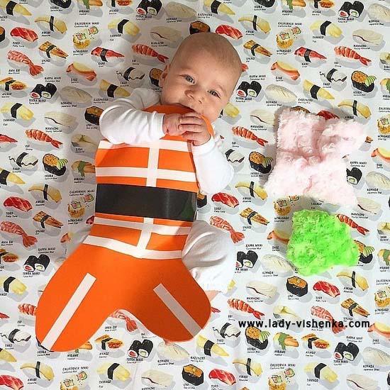 costume Sushi pour les bebe
