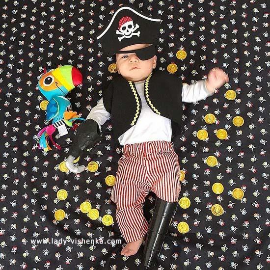 Déguisement pirate pour bebe