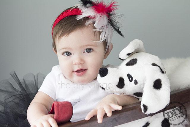 Cruella Deville Déguisement pour bebe