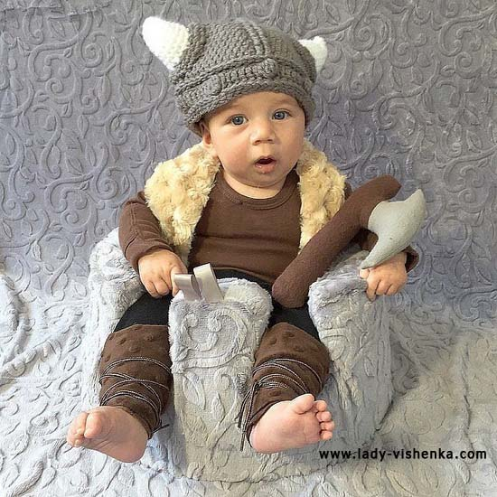 Costume pour enfant viking