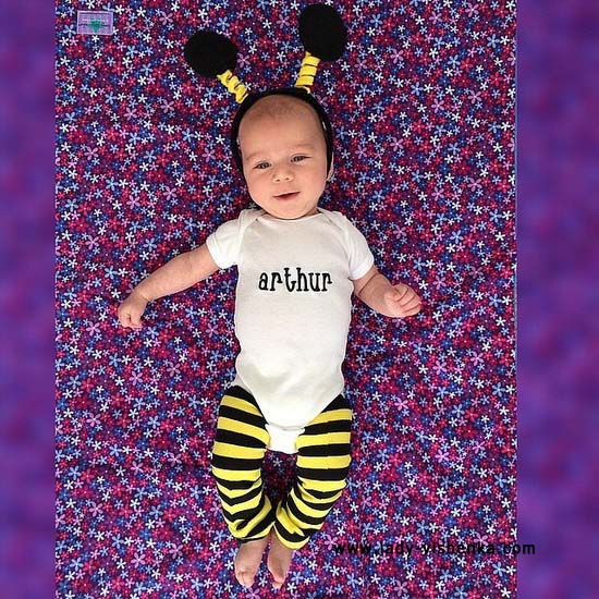 Costume d'abeille pour votre bébé
