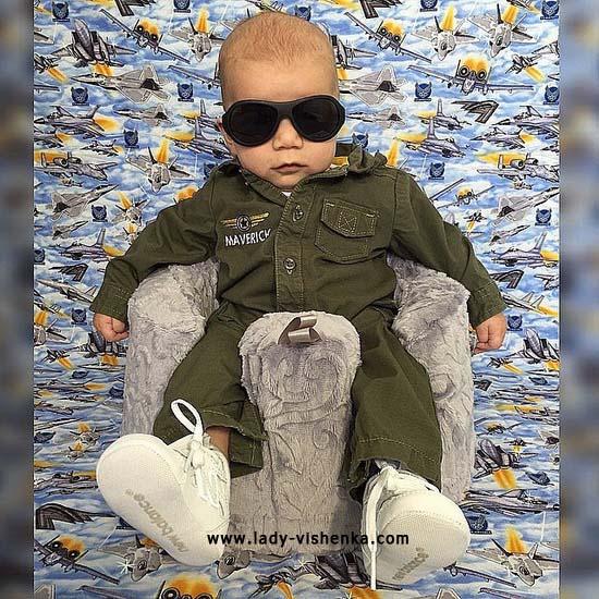costume soldat pour bébé