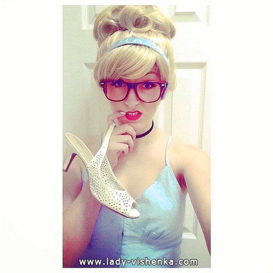 Cendrillon déguisement Halloween pour fille