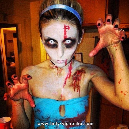 Cendrillon Zombie Halloween