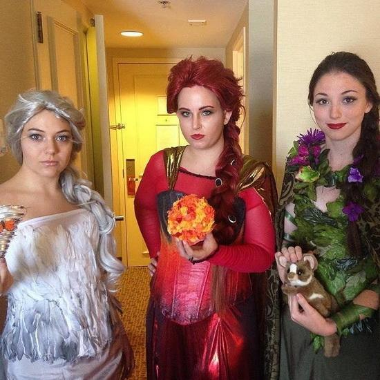 Facile Déguisement Elsa Halloween