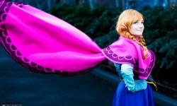 Belle Déguisement Anna pour Halloween