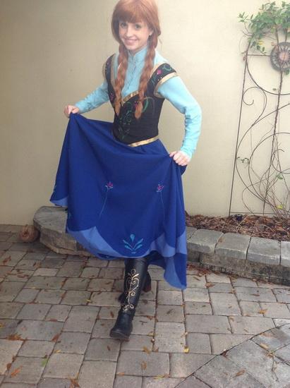 Anna - déguisement Halloween