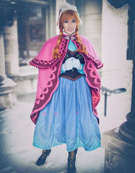 Costume d'Halloween pour les filles - Anna