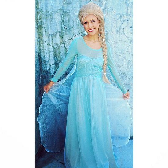 La Reine des Neiges - déguisement Halloween