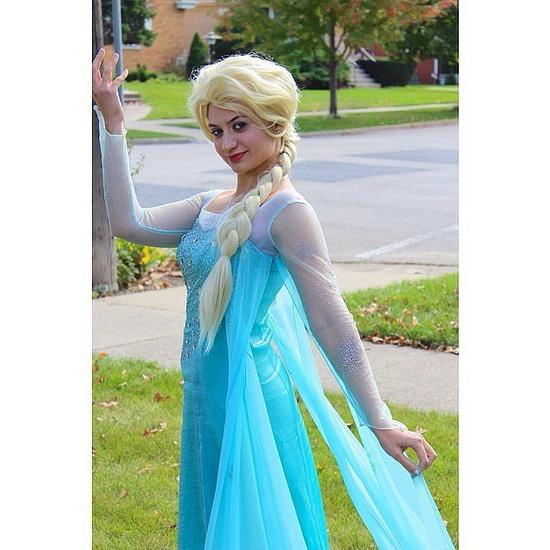 La Reine des Neiges - déguisement Halloween femme