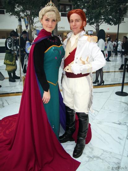Anna déguisement d'Halloween (La Reine des Neiges)