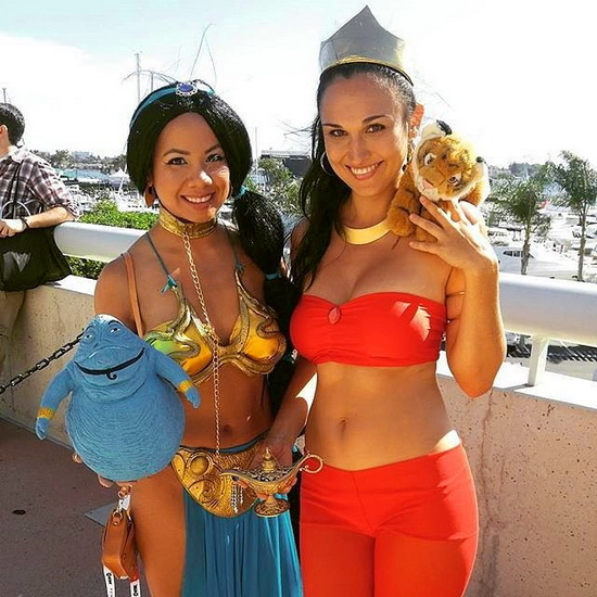 Jasmine - idée de costume pour Halloween