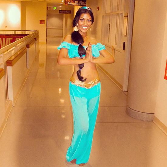 Jasmine costume d'Halloween pour les filles