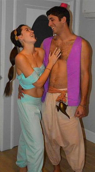 Jasmine et Aladdin Halloween