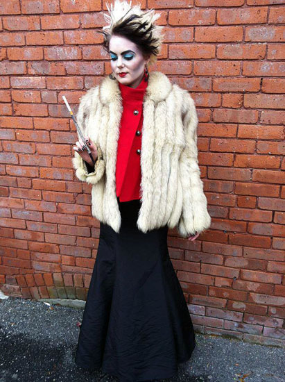 Habillez Cruella De Vil Halloween - photo