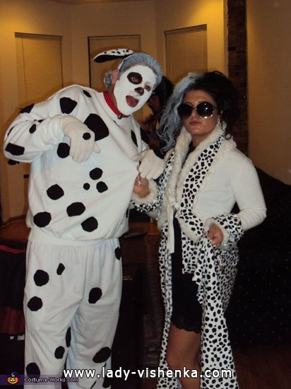 Halloween déguisement - Cruella De Vil