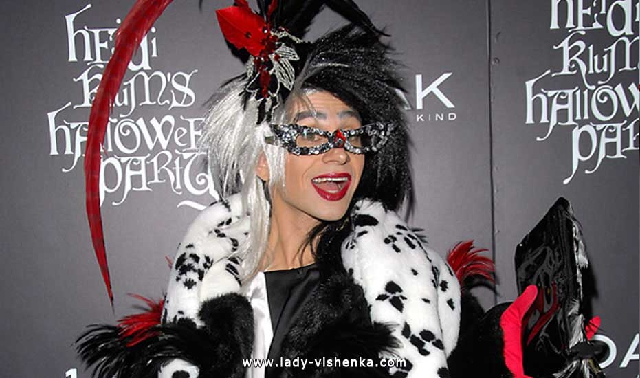 Costume Cruella pour Halloween - photo