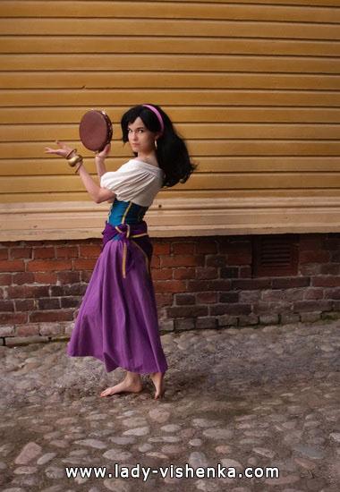 Robe pour Halloween - Esmeralda