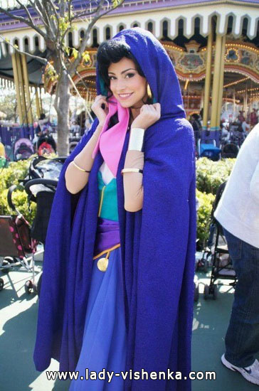 déguisement esmeralda fille