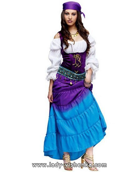 déguisement esmeralda femme