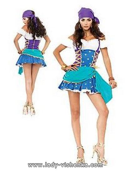 deguisement Halloween gitane esmeralda