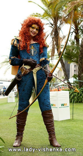 Merida - super-héros - Déguisement pour les filles sur Halloween
