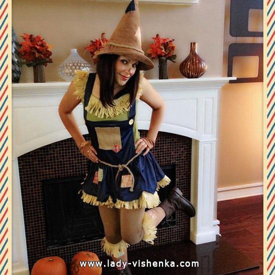 Épouvantail Déguisement d'Halloween pour fille