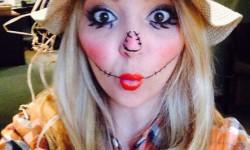 Images de Halloween pour les filles - épouvantail