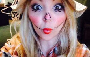 Déguisement pour Halloween — épouvantail
