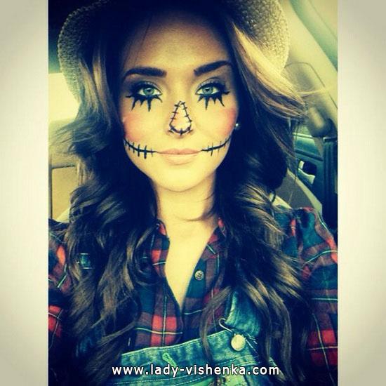 Épouvantail - l'image Halloween