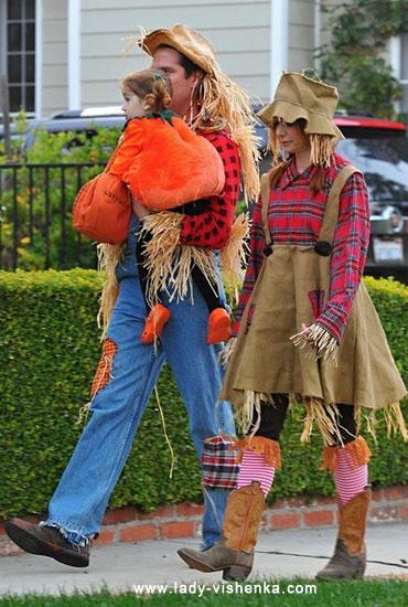 Épouvantail - costume d'Halloween