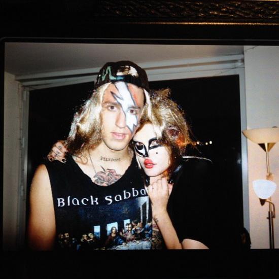 Les modèles de Cat et Miles Mcneil Langford