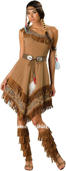 L'image de Pocahontas Halloween