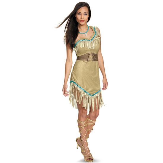 Tenue Pocahontas pour Halloween