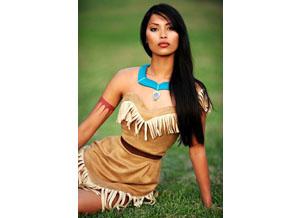 Déguisement Pocahontas pour Halloween