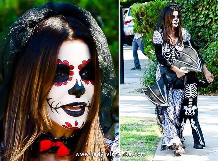 Costume de squelette pour Halloween adulte