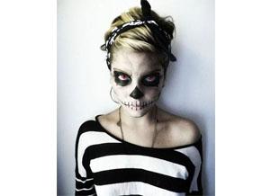 Déguisement d'Halloween squelette