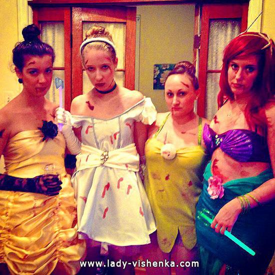 Zombie Halloween - Disney Princess