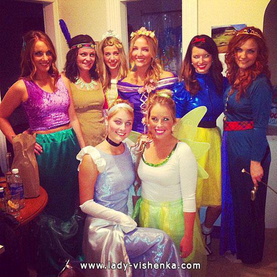 20 idées de costumes pour Halloween Disney Princess