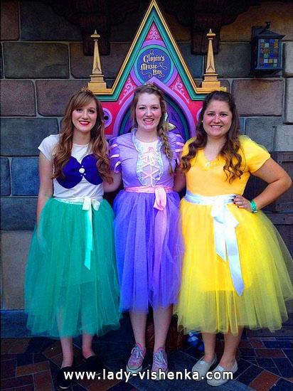 robe de princesse adulte - Halloween