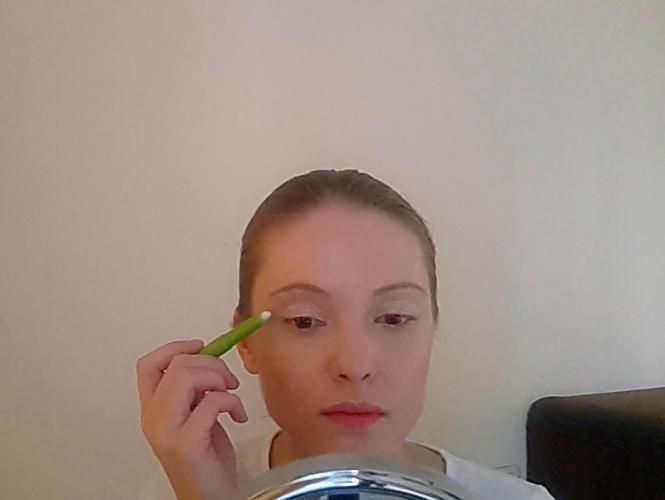 Beau maquillage pour Halloween - Chauve-souris
