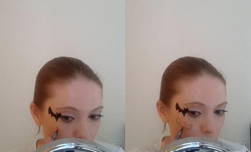 Comment dessiner un visage chauve-souris