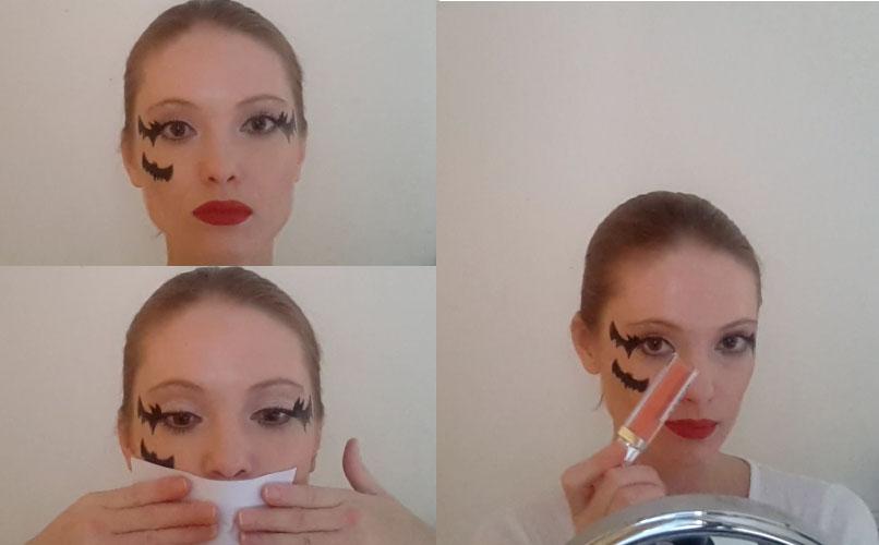 Guide étape par étape de maquillage d'Halloween