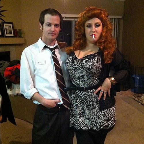 Déguisement halloween couple