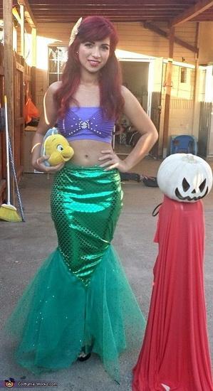 Idées de costumes d'Halloween pour les filles d'Ariel